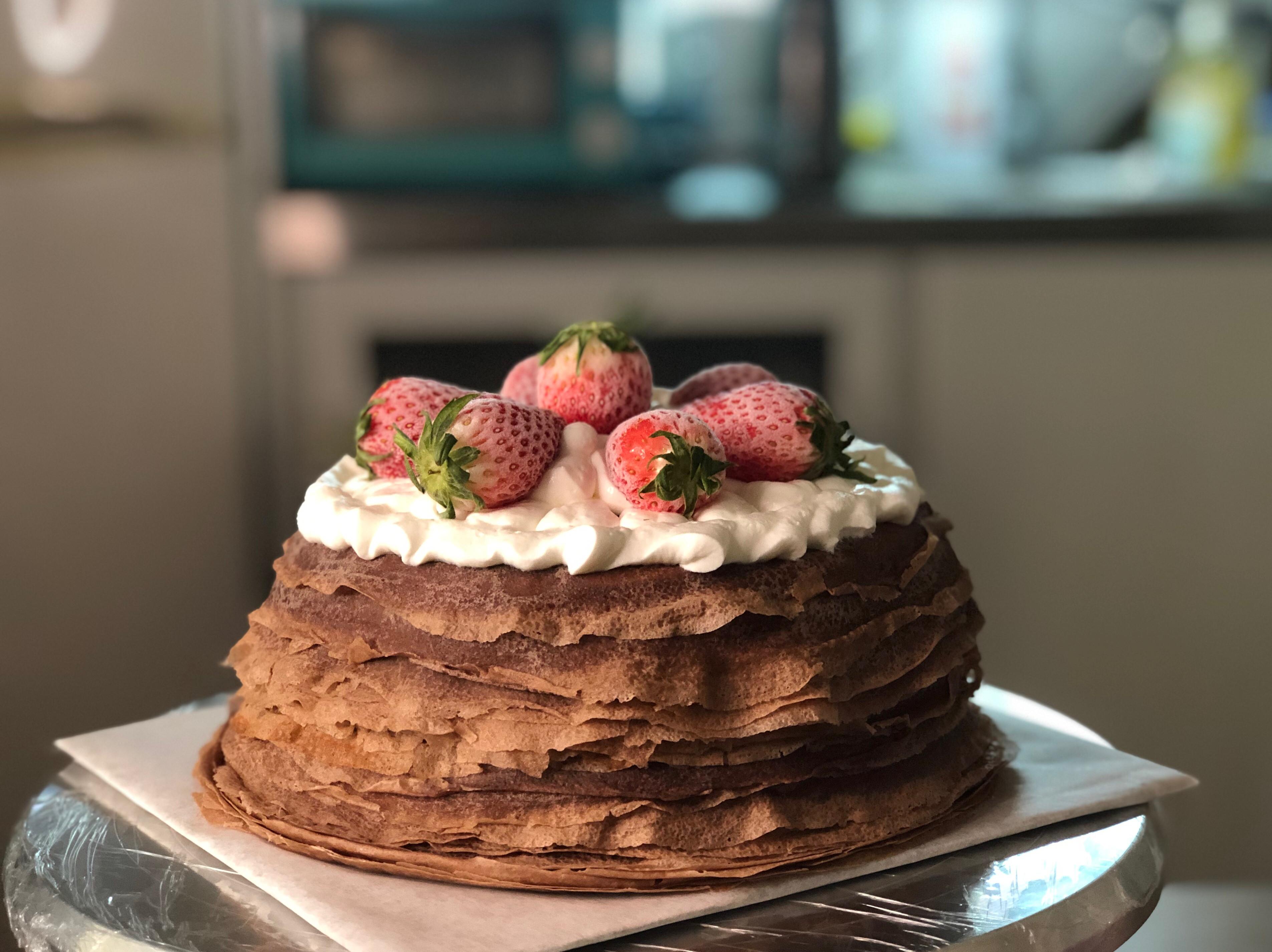 朱古力千層蛋糕
