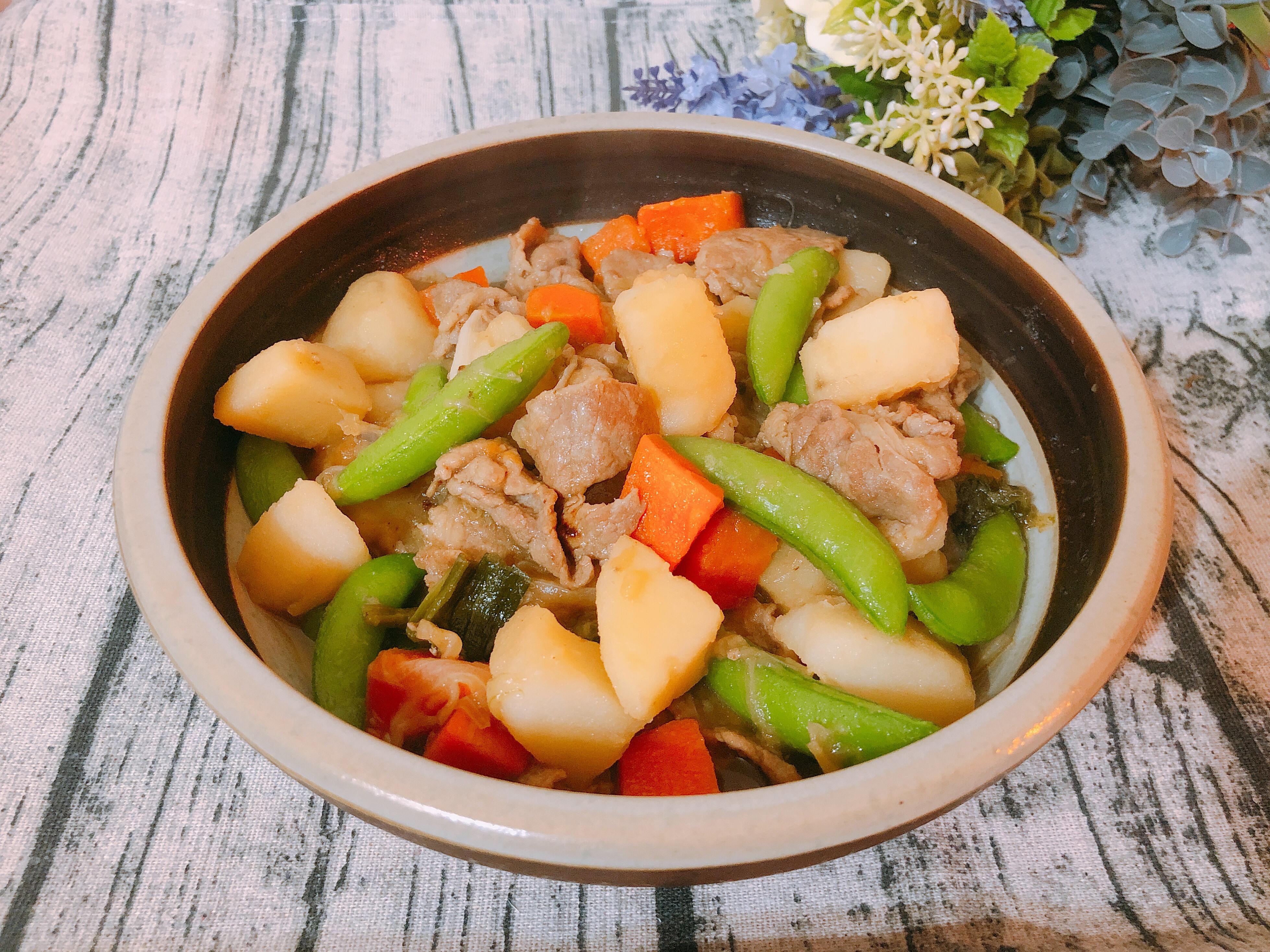 家常料理-日式馬鈴薯燉肉