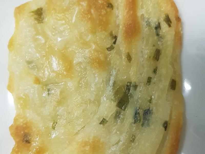 酥脆蔥油餅