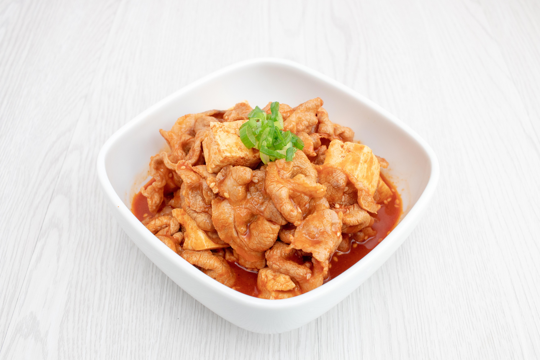 一鍋到底《水煮韓式豆腐豬肉片》