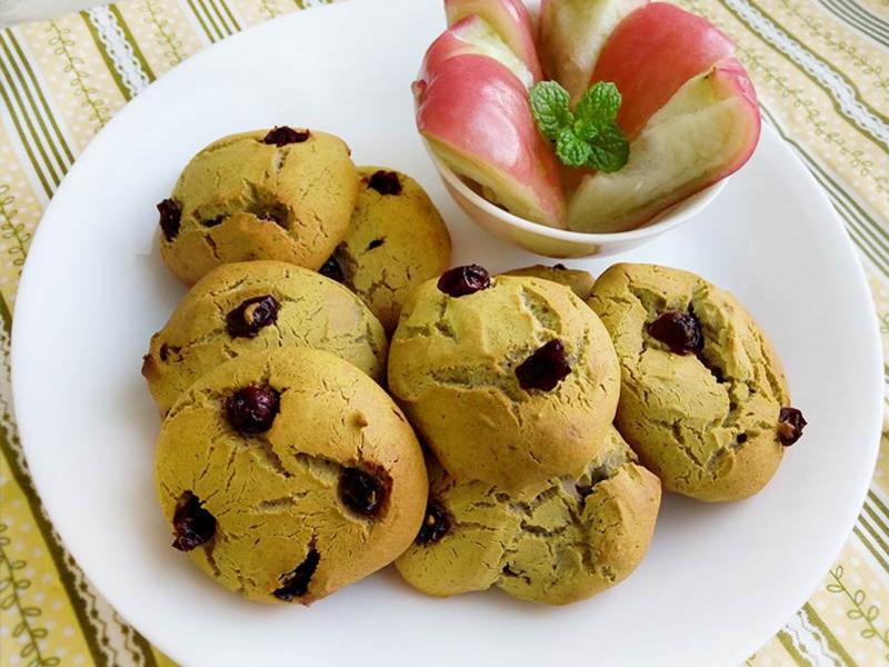 擂茶果乾麻糬麵包♥免預拌粉