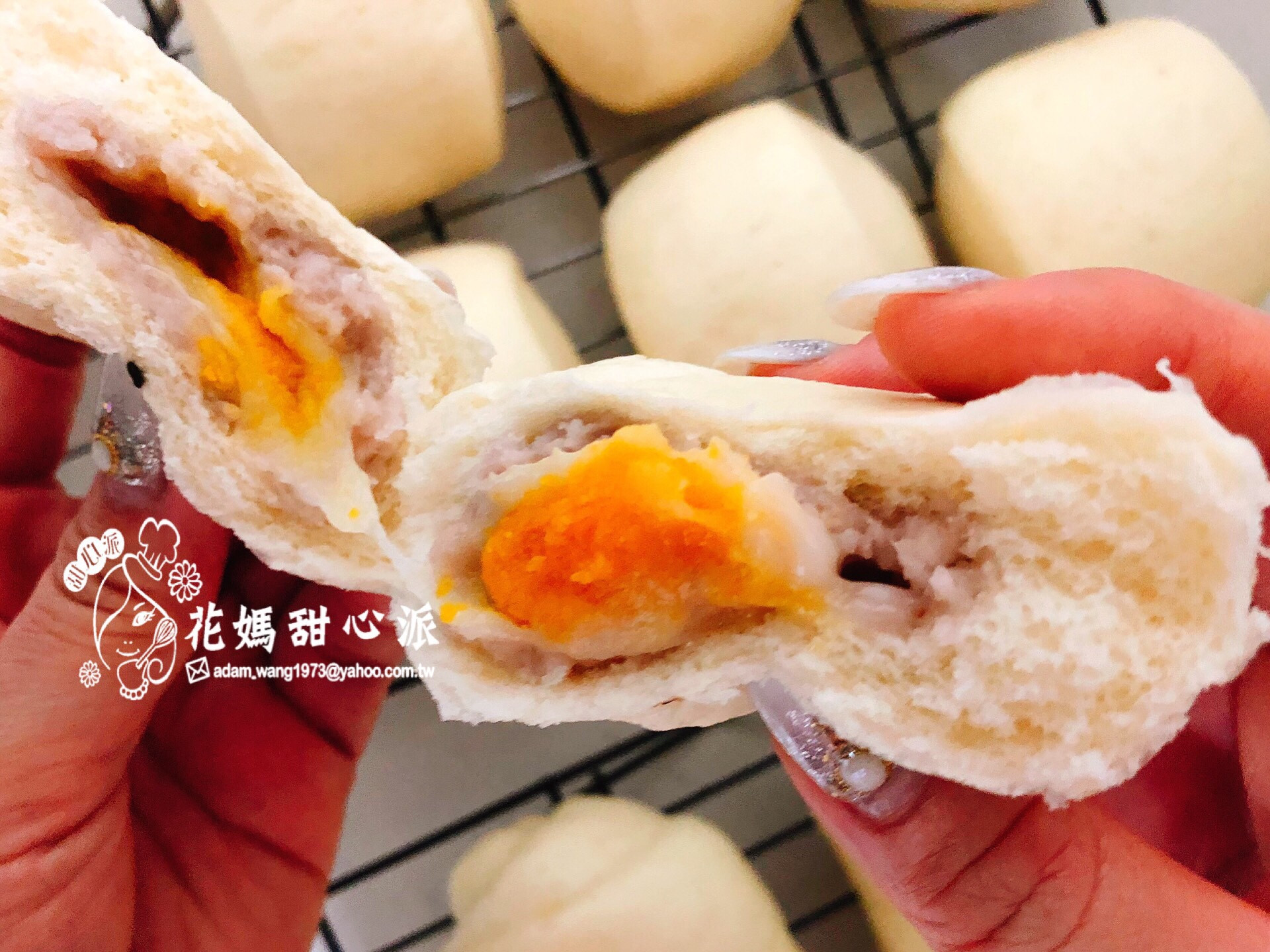 芋泥起士包(中麵料理)