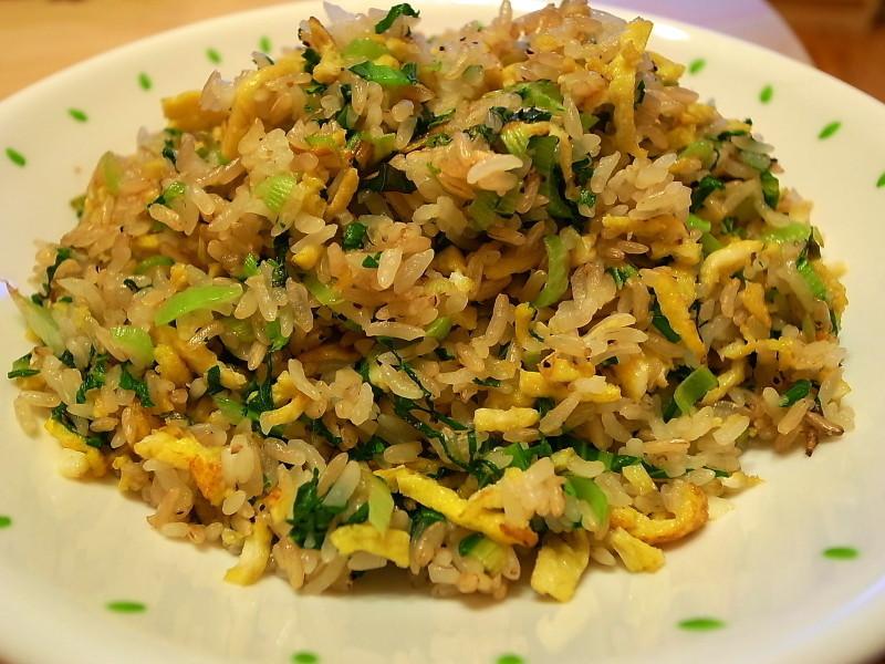 清爽版上海菜飯