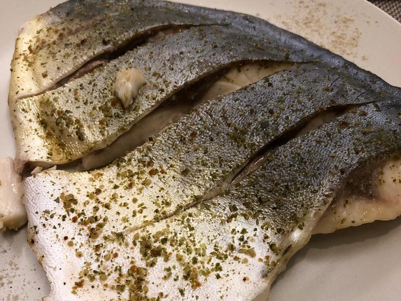 香烤白鯧魚