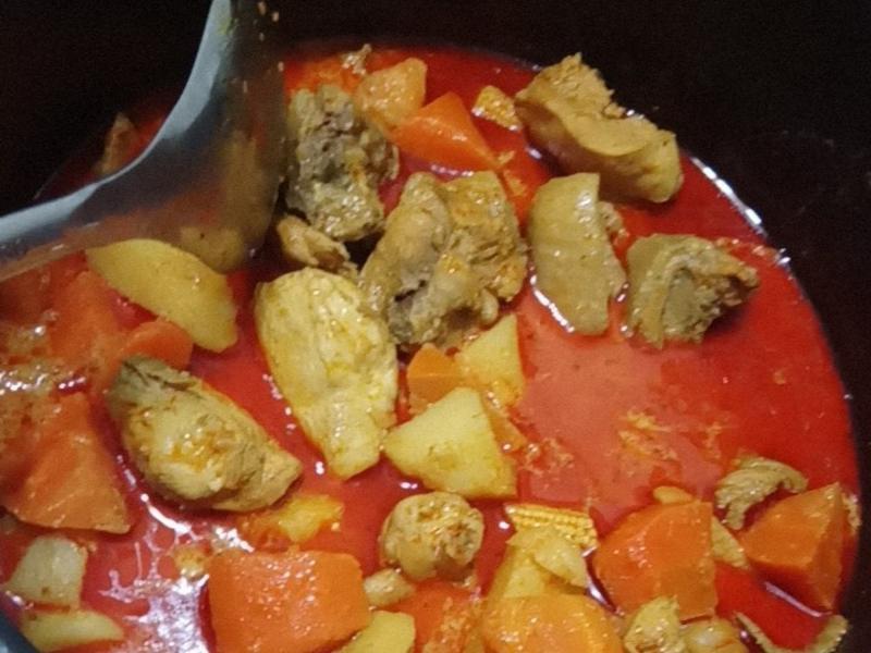 馬來西亞咖哩雞