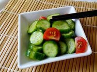 涼拌小黃瓜(檸檬汁)-全素