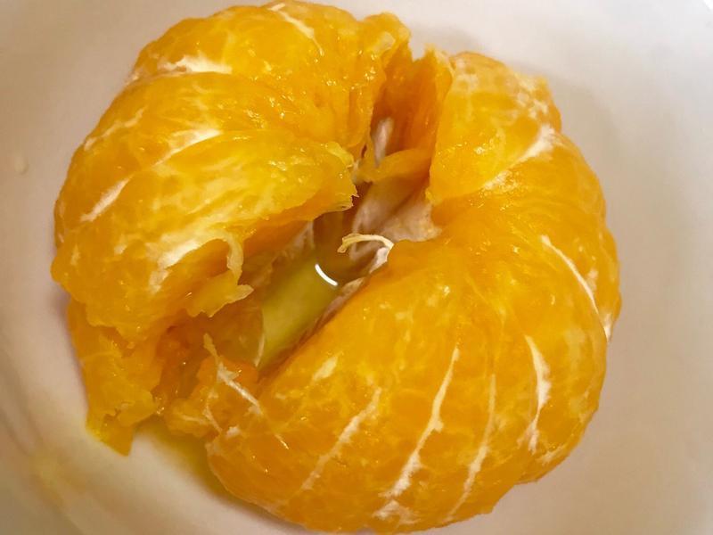 鹽蒸橘子/免烤箱/感冒好良方❤️