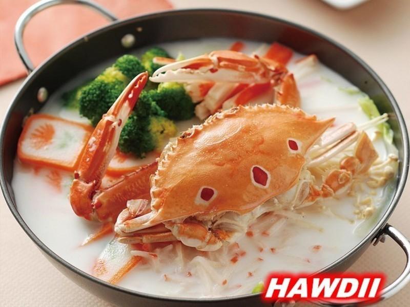 奶香螃蟹鍋