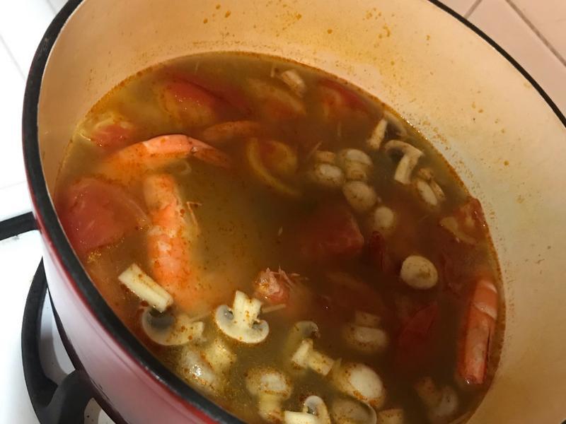 泰式冬陽湯