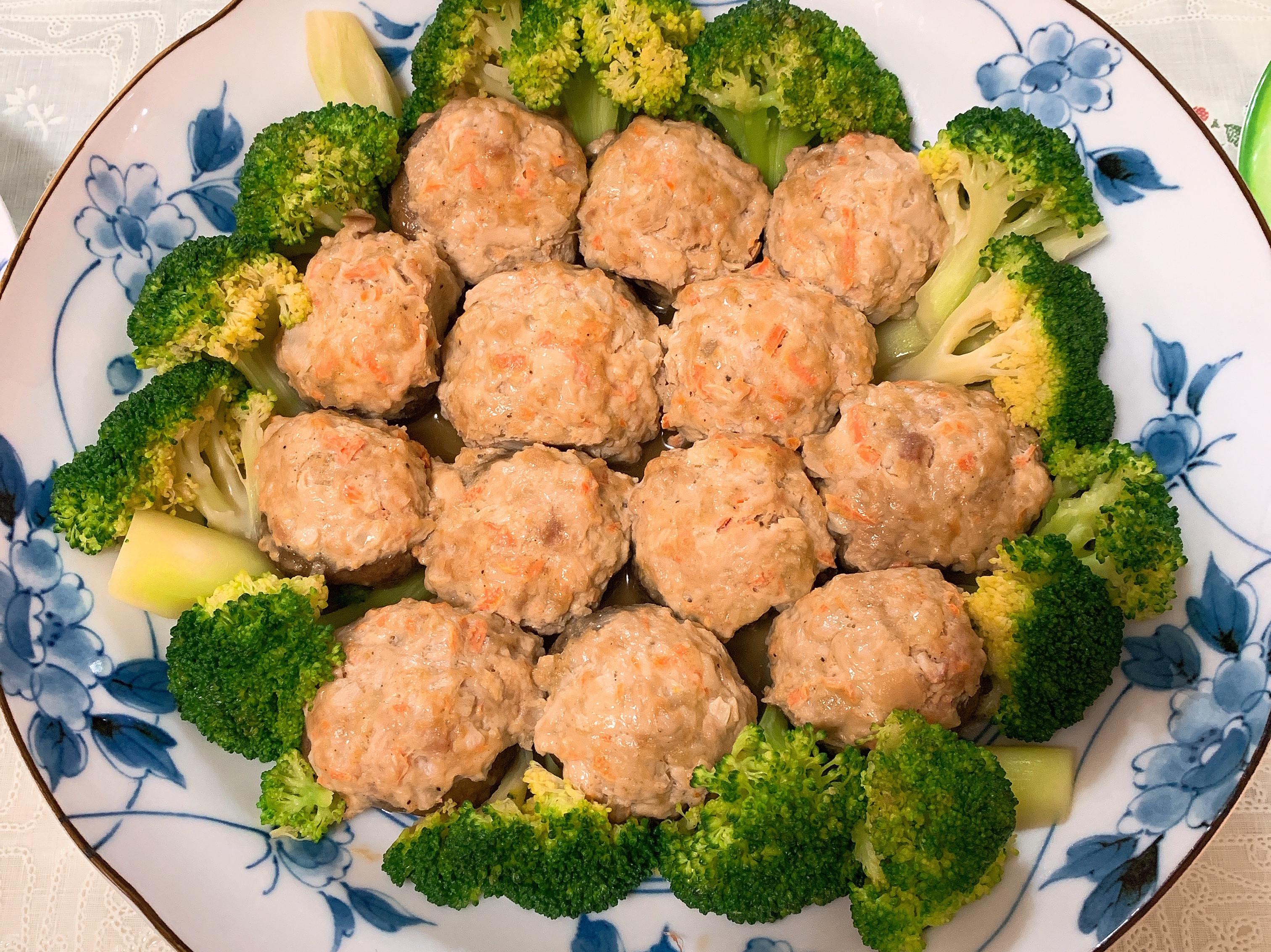減脂料理-低脂香菇鑲肉