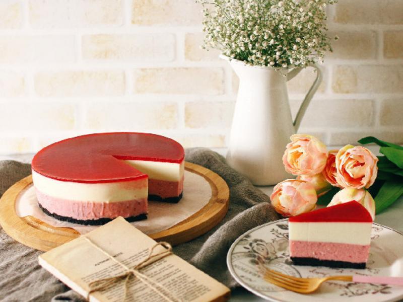 草莓優格生乳酪