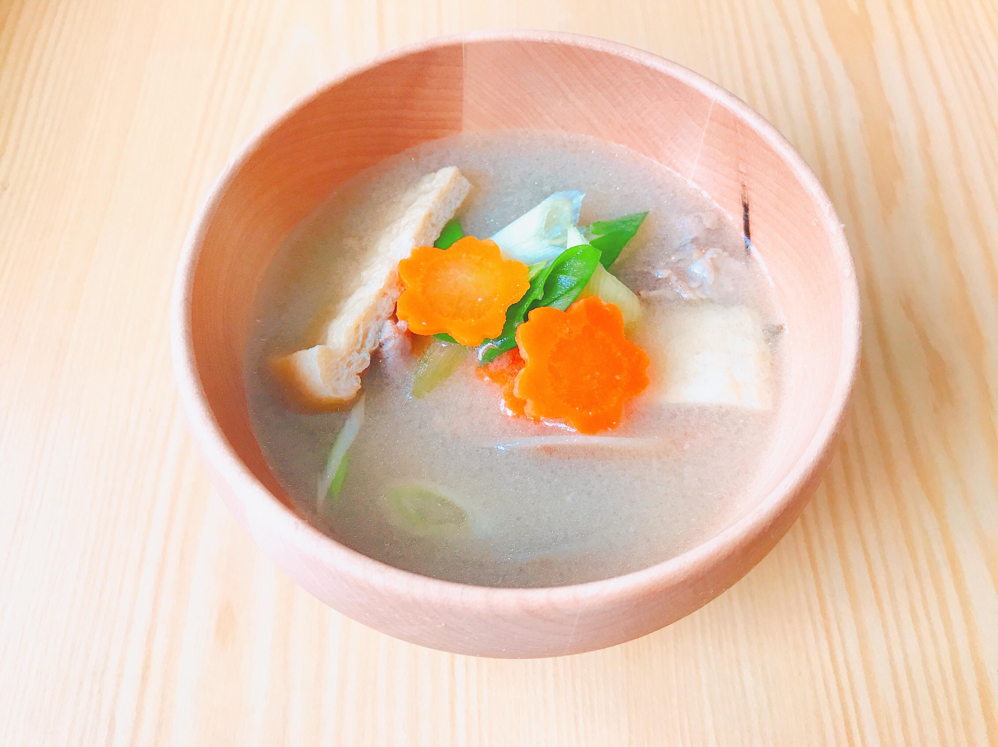 豬肉味噌湯/豚汁