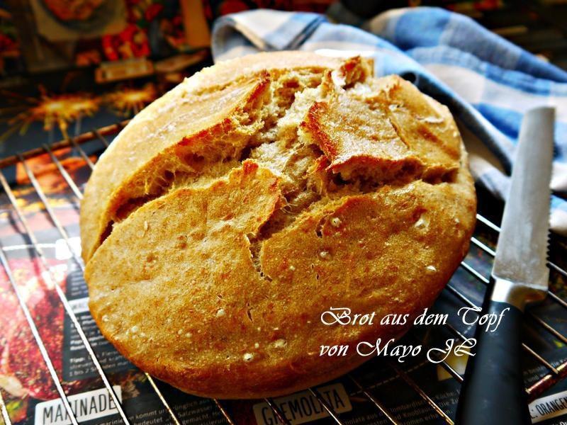 鐵鑄鍋麵包
