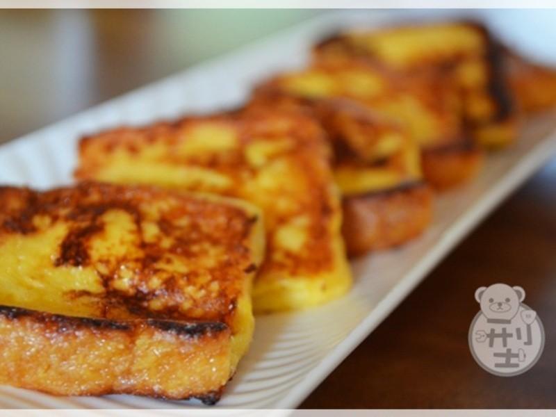 簡單美味的早餐-法國吐司