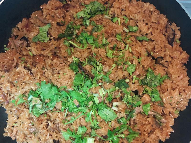 QQの台式油飯(糯米飯)