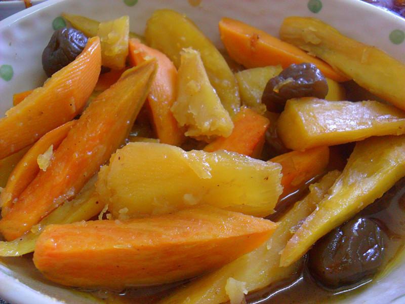 Y芬的小廚房--「梅膏料理」之梅汁蜜地瓜