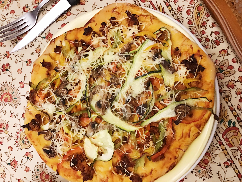 簡單手作彩椒披薩