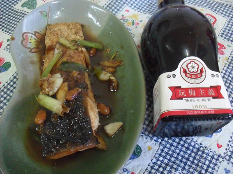 Y芬的小廚房--「梅膏料理」之梅汁燒草魚
