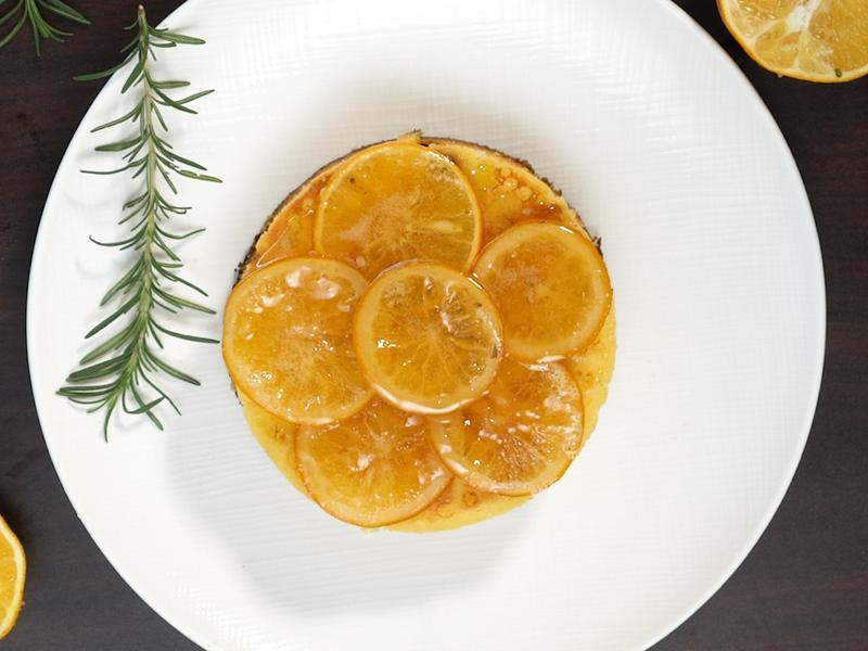 香橙蛋糕(平底鍋版)