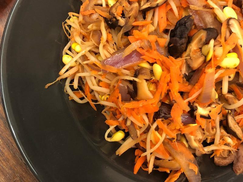 低卡懶人料理*香菇炒鮮蔬 健康飲食
