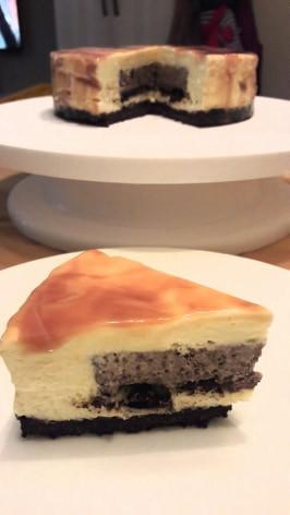 偽鏡面OREO夾心慕斯蛋糕-無食用色素版