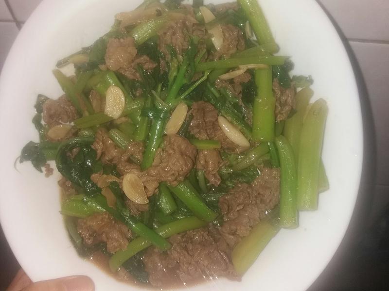 芥藍牛肉🐂