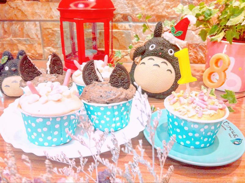#舒芙蕾杯子蛋糕 #派對點心