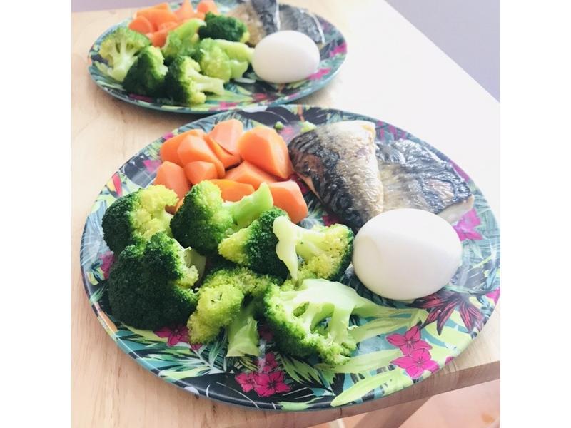 鯖魚低卡早餐