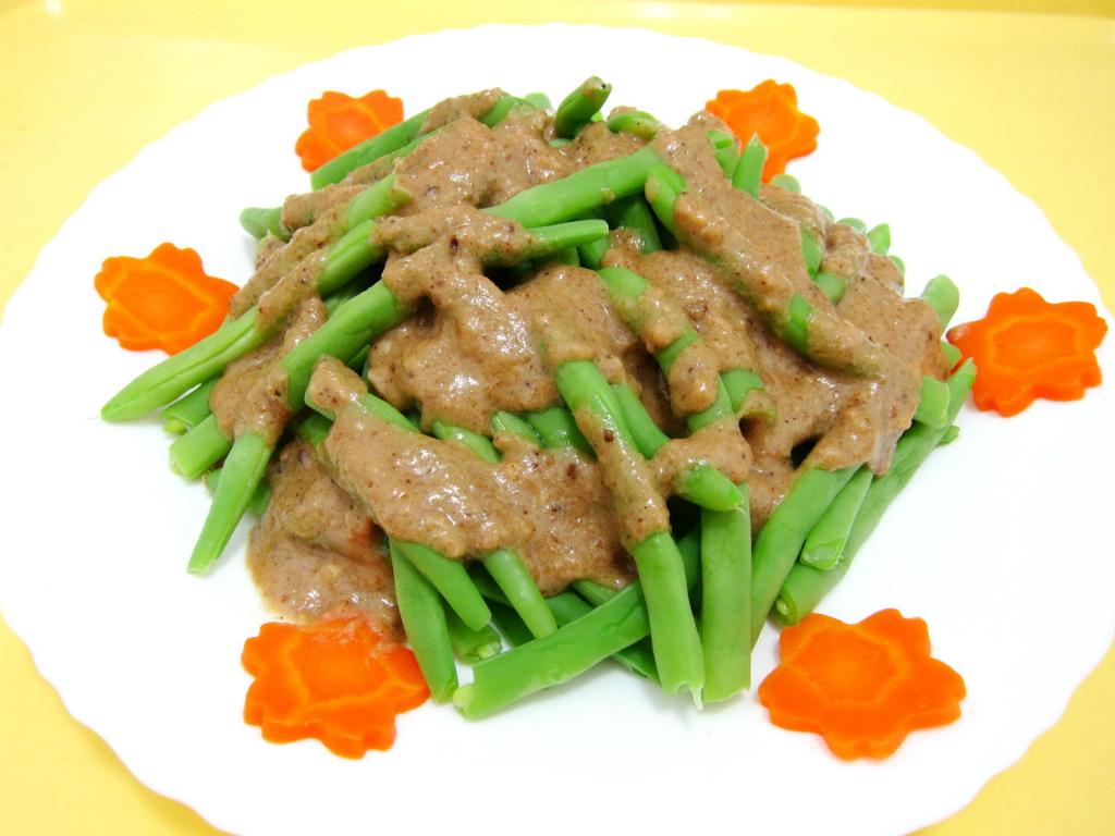 核桃醬四季豆