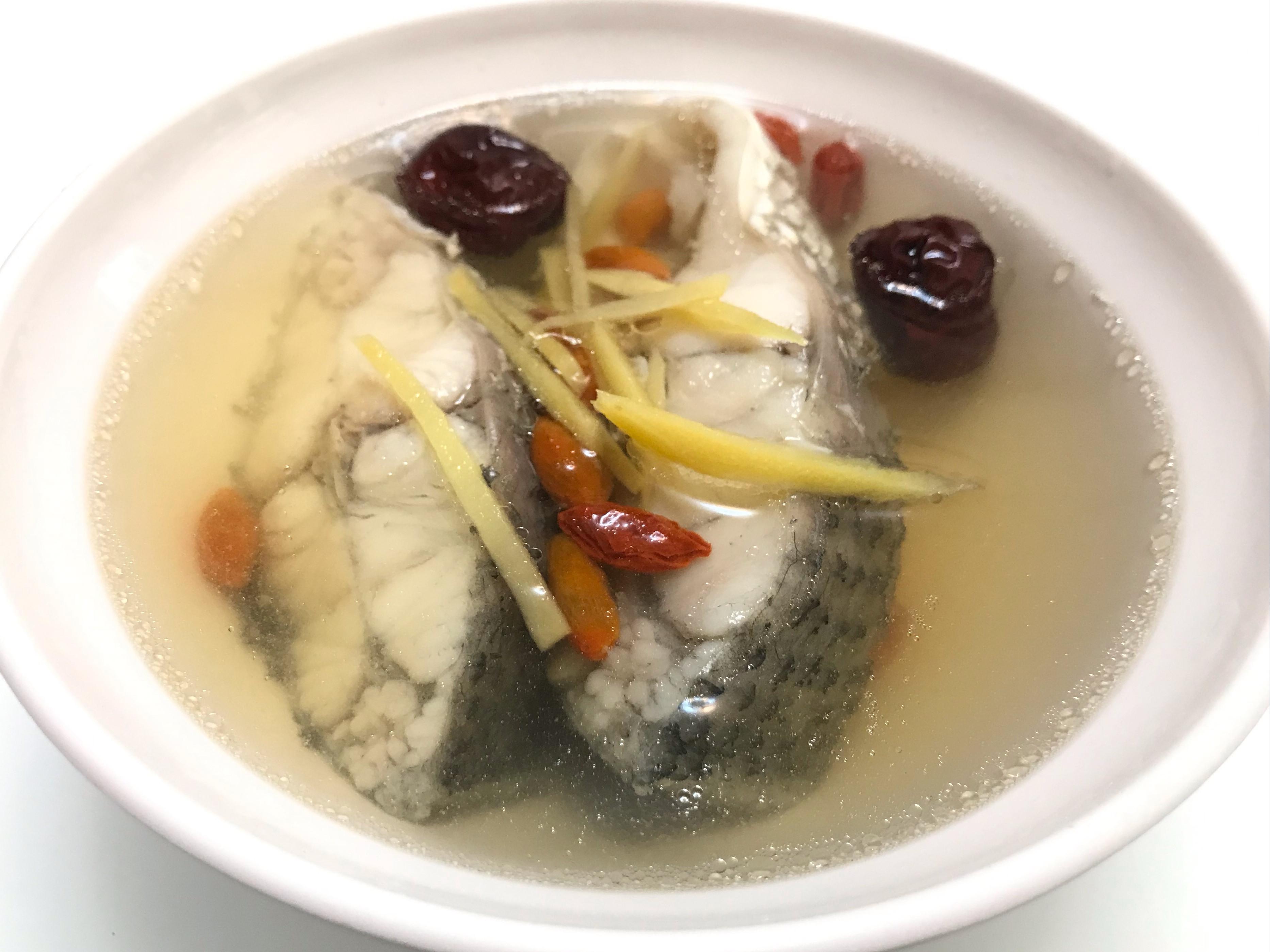 👩🏻🍳紅棗枸杞鱸魚湯-無酒料理