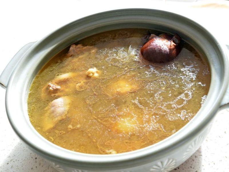 韓式清燉牛尾湯