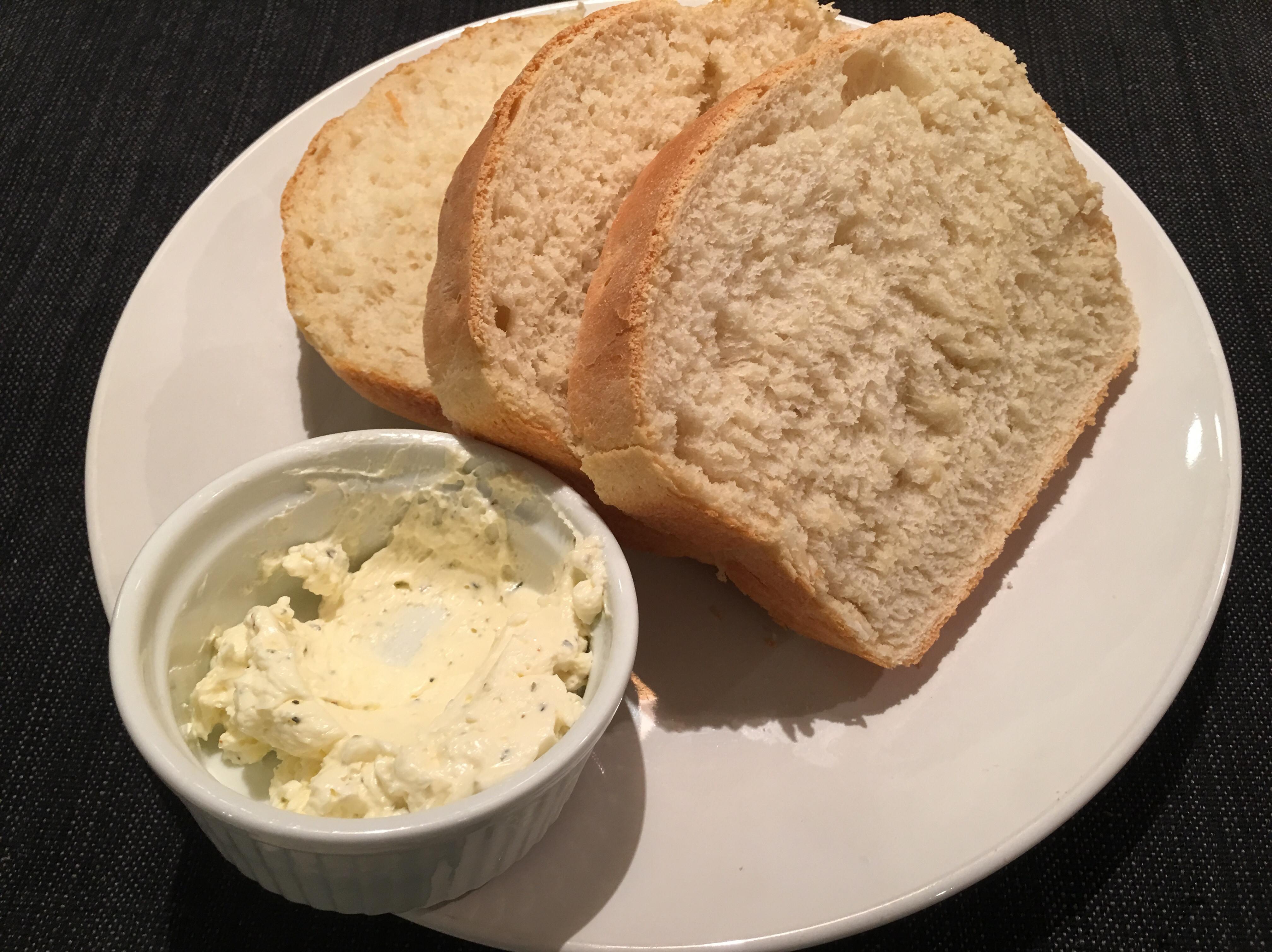 美式吐司+奶油醬(牛排店口感、免麵包機)