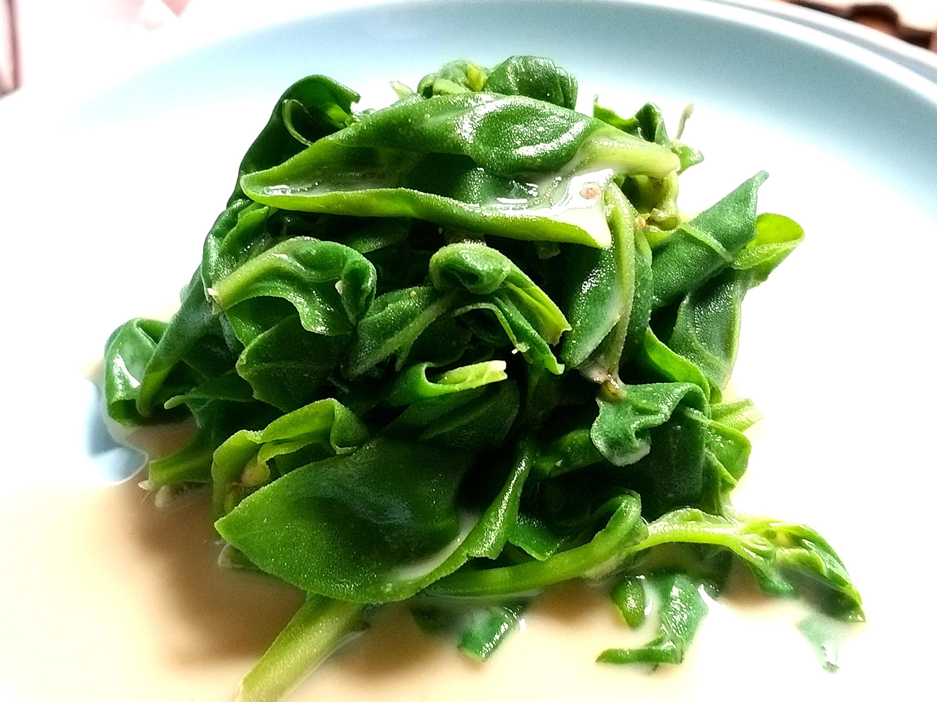 腐乳拌甜菠菜