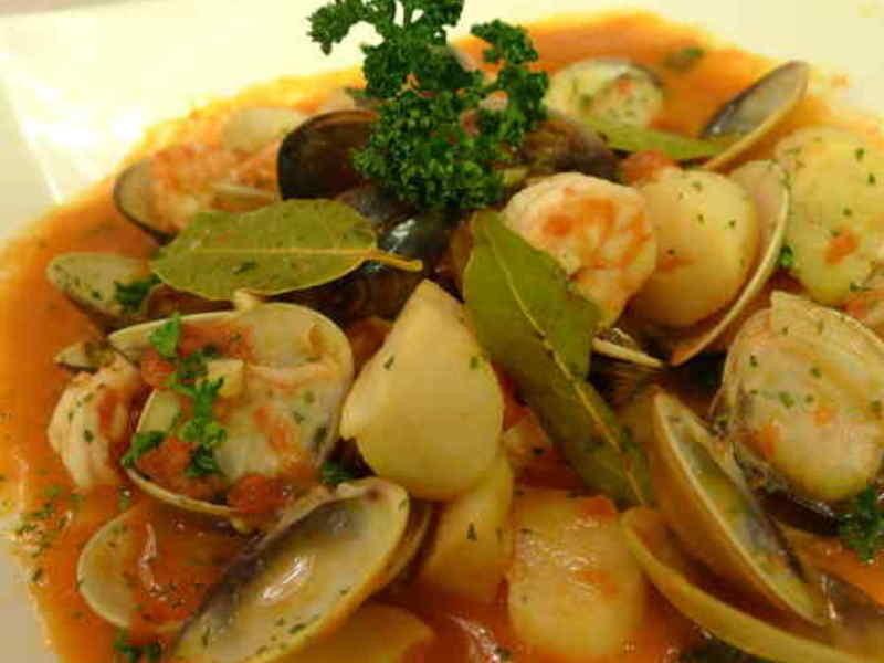 義式香料茄汁海鮮
