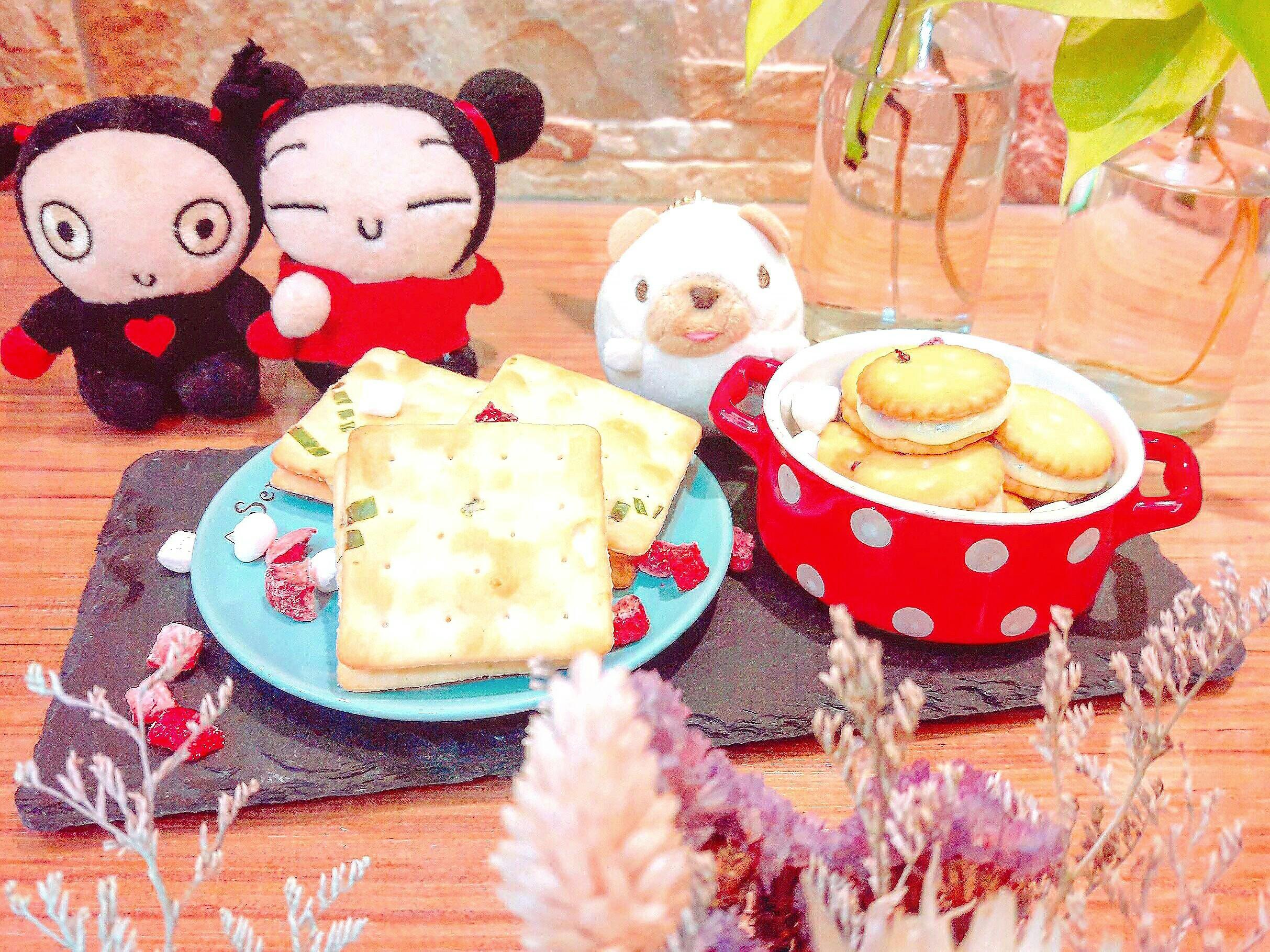 草莓牛軋餅