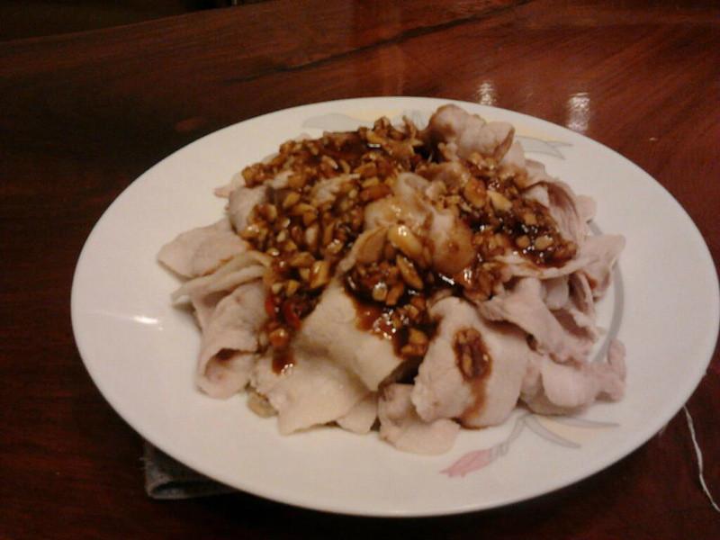 家常宴廚房~蒜泥白肉