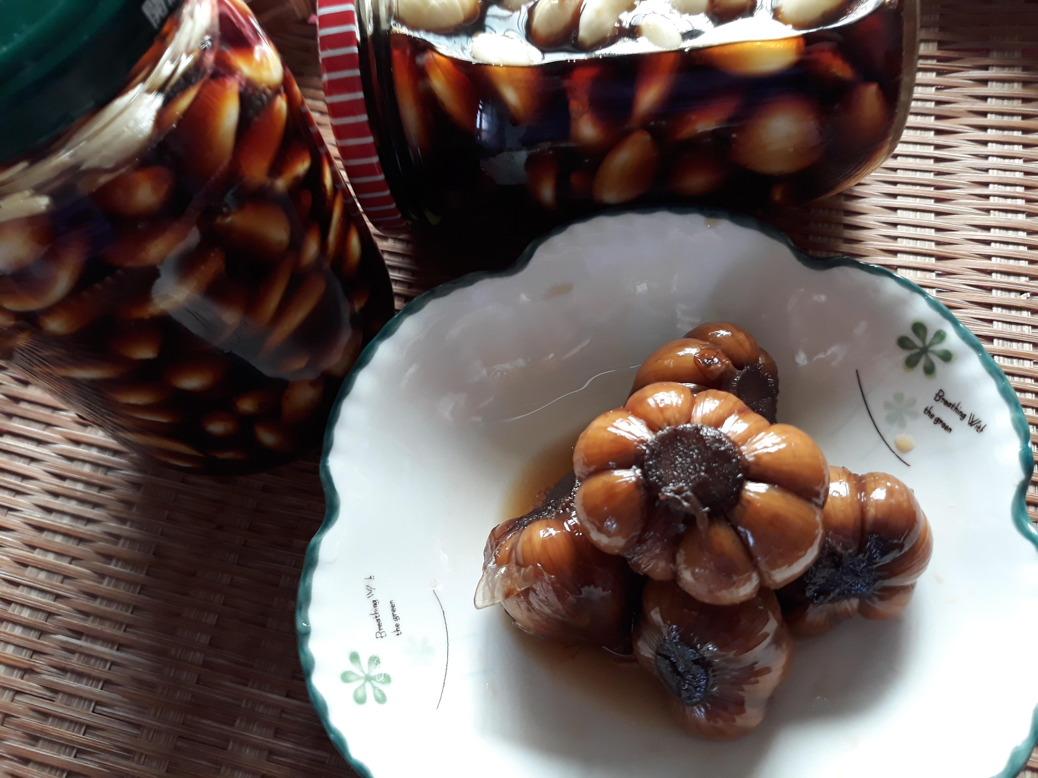 自製黑醋蒜