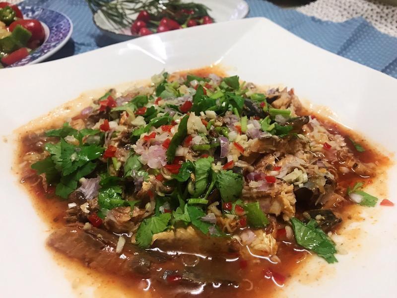 茄汁沙丁魚罐頭~泰式風