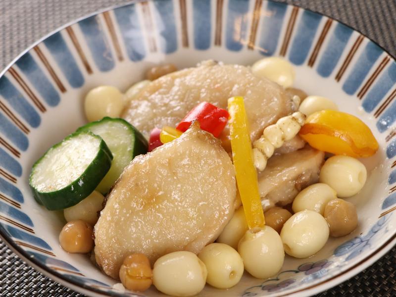 素干貝鑲糯米