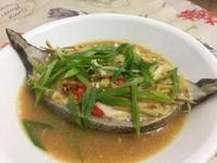 豆腐乳蒸海鱺魚 (豆乳蒸魚、清蒸海鱺)