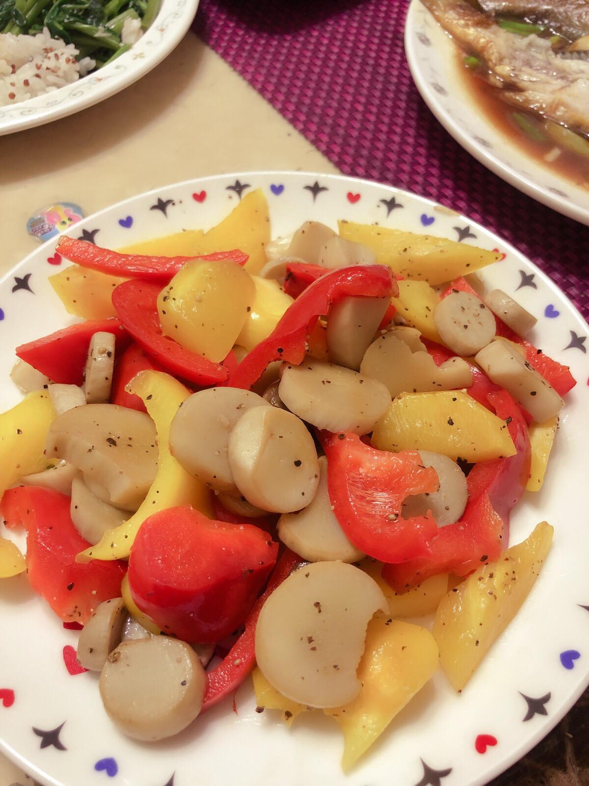 杏鮑菇簡易料理~ (減重適用)