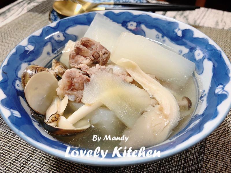 鮮甜海陸排骨湯【偽開飯川食堂】