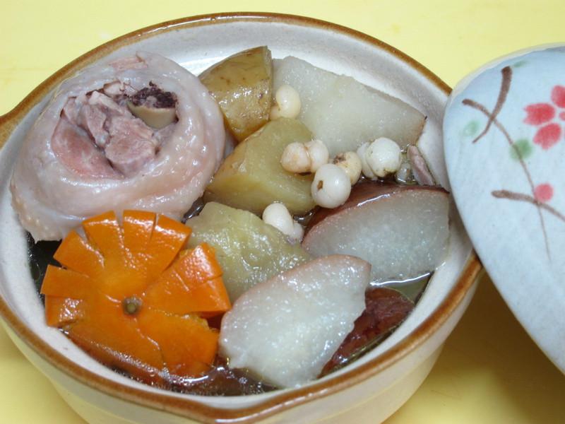 【四季江戶味之秋季料理】蘋果水梨燉雞湯