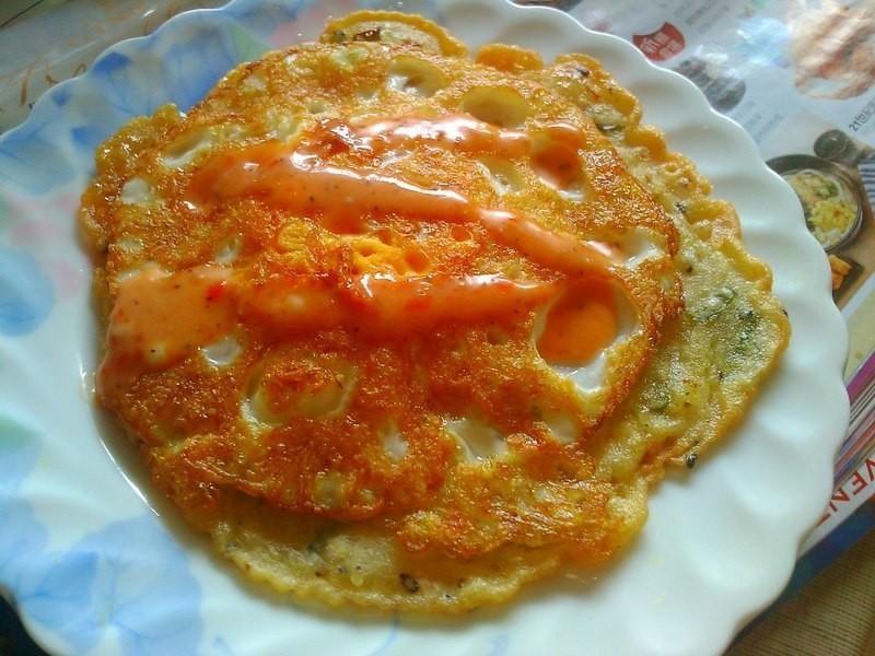 古早味麵漿煎蛋包餅