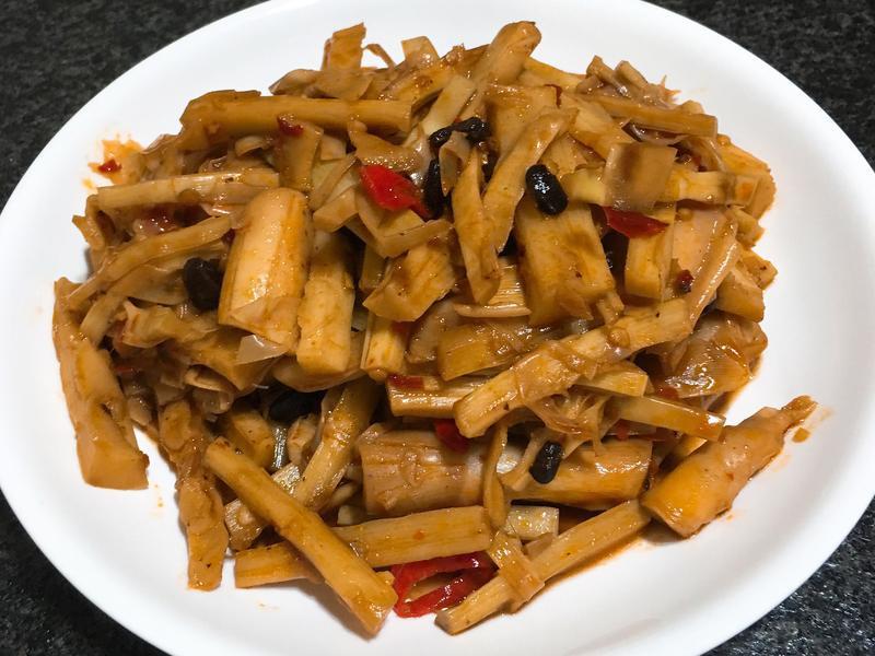 香辣炒桂竹筍~全素