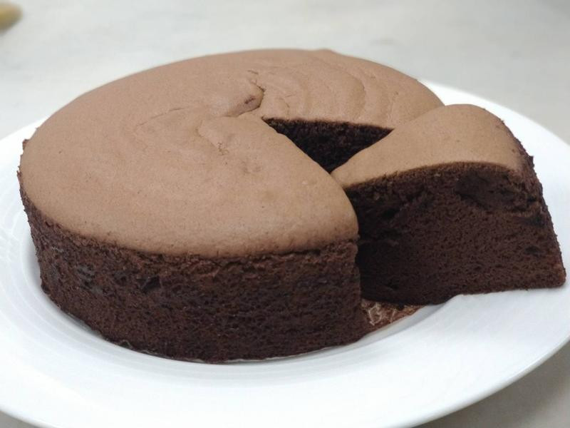 巧克力綿花蛋糕