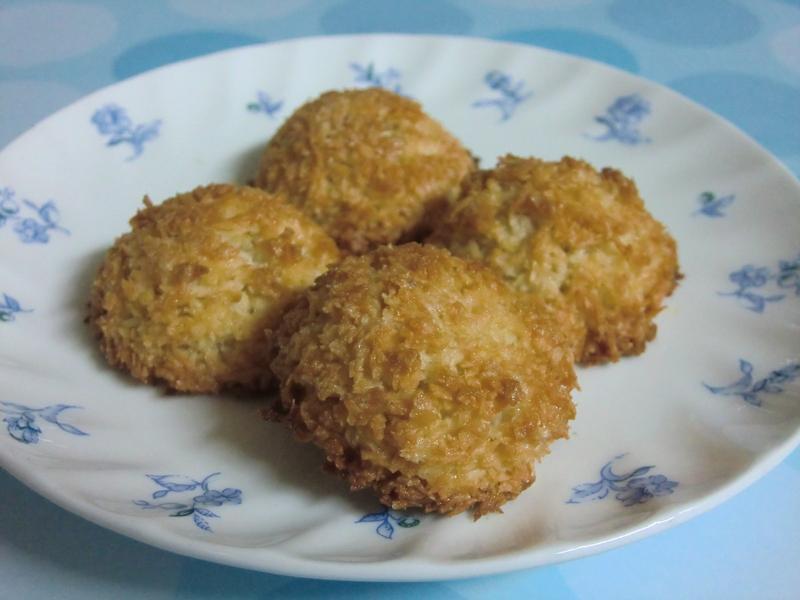 椰絲蛋白餅乾