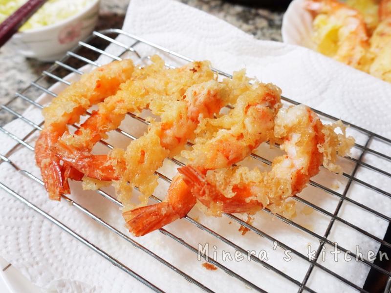 日式炸蝦天婦羅
