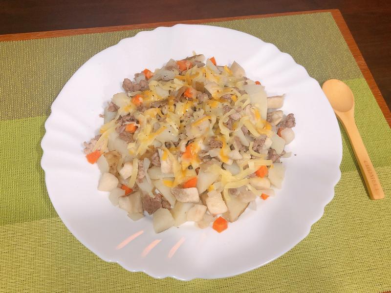 馬鈴薯起士絞肉-清冰箱料理