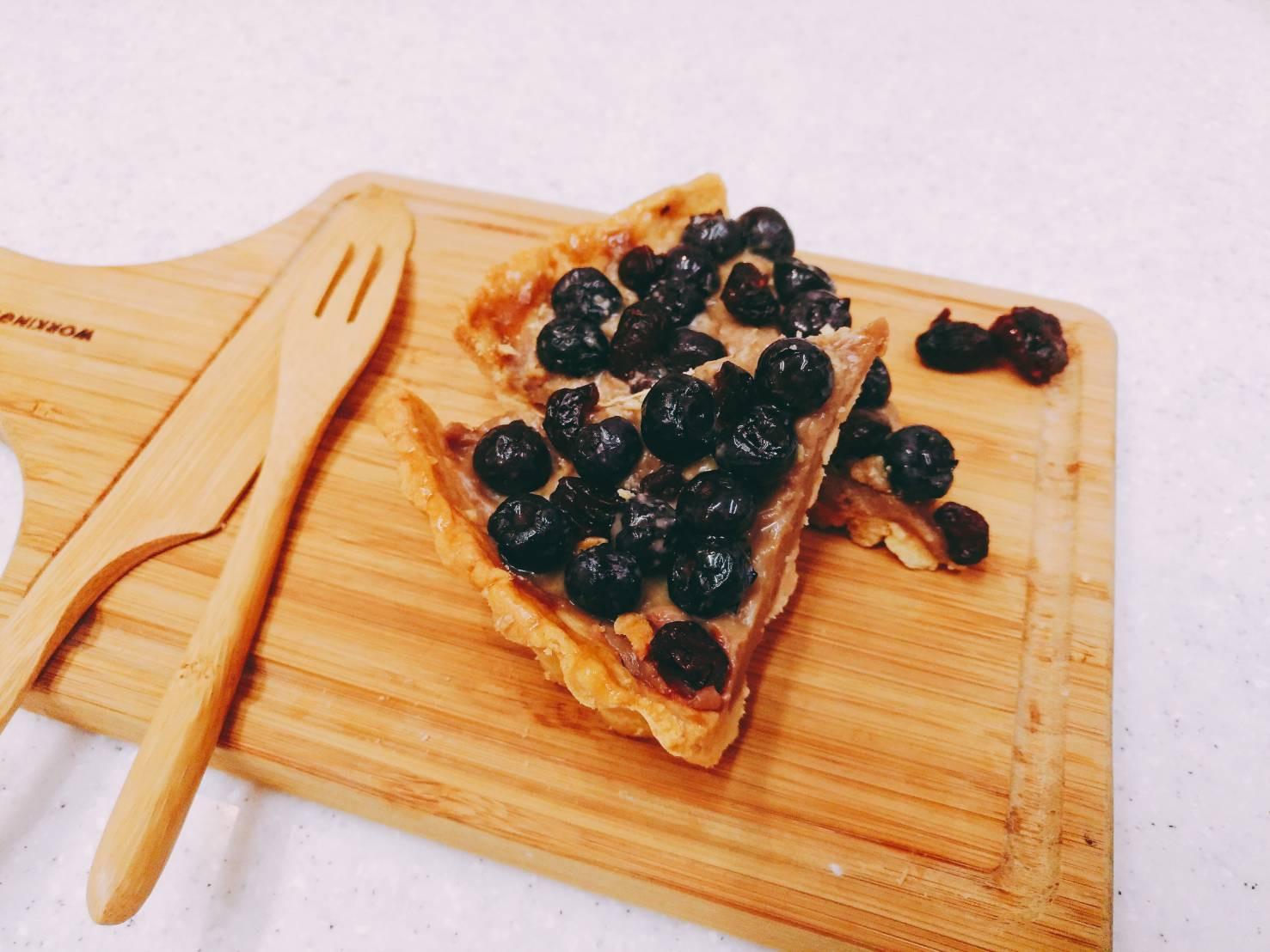 藍莓阿薩姆奶茶派